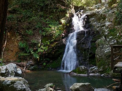 摂津峡の滝