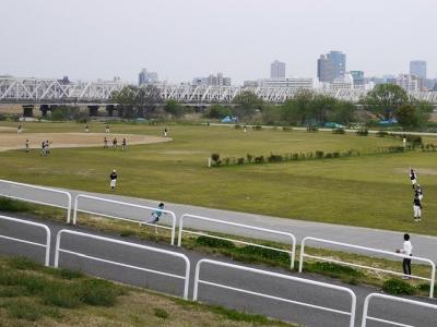 淀川河川公園西中島地区野球場 ...