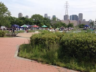 淀川河川公園・西中島