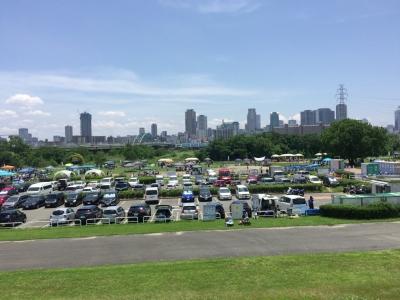 淀川河川公園西中島地区駐車場横