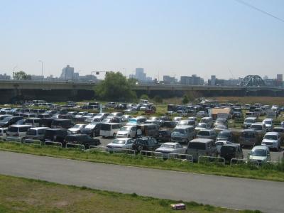 淀川河川公園西中島地区駐車場