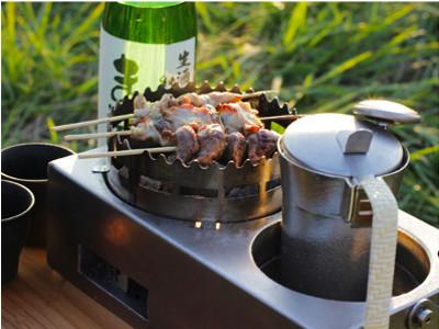 冬BBQにはおすすめな熱燗